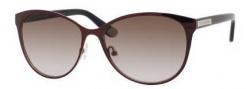 Juicy Couture Juicy 535/S Sunglasses Sunglasses - 01M7 Dark Cabernet (Y6 brown gradient lens)