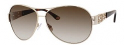 Juicy Couture Juicy 536/S Sunglasses Sunglasses - 03YG Light Gold (Y6 brown gradient lens)