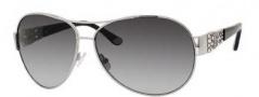 Juicy Couture Juicy 536/S Sunglasses Sunglasses - 06LB Silver (Y7 gray gradient lens)