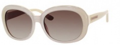 Juicy Couture Juicy 537/S Sunglasses Sunglasses - 0JVB Ivory Glitter (Y6 brown gradient lens)