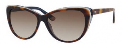 Juicy Couture Juicy 538/S Sunglasses Sunglasses - 01H3 Tortoise Blue (Y6 brown gradient lens)