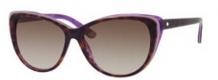 Juicy Couture Juicy 538/S Sunglasses Sunglasses - 01F9 Tortoise Purple (Y6 brown gradient lens)