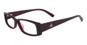 CK by Calvin Klein 5624 Eyeglasses Eyeglasses - 607 Bordeaux