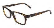 CK by Calvin Klein 5650 Eyeglasses  Eyeglasses - 214 Havana