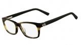 CK by Calvin Klein 5650 Eyeglasses  Eyeglasses - 745 Striped Khaki Sand