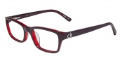 CK by Calvin Klein 5691 Eyeglasses Eyeglasses - 603 Bordeaux Red