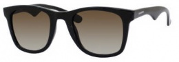 Carrera 6000/L/S Sunglasses Sunglasses - 0D28 Shiny Black (IF brown gradient azure lens)