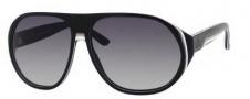 Gucci 1025/S Sunglasses Sunglasses - 0GRJ Black Pom White (VK gray gradient lens)