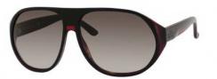 Gucci 1025/S Sunglasses Sunglasses - 0I31 Black Red Green Havana (HA brown gradient lens)