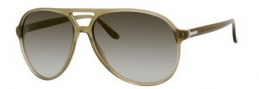 Gucci 1026 Sunglasses Sunglasses - 0QP4 Military Green (HP gray lens)