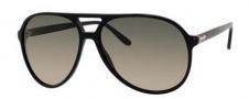 Gucci 1026 Sunglasses Sunglasses - 0807 Black (57 brown gradient lens)