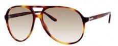 Gucci 1026 Sunglasses Sunglasses - 005L Havana (LI brown gradient lens)