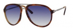 Gucci 1031 Sunglasses Sunglasses - 0X63 Wood (08 dark blue gradient lens)
