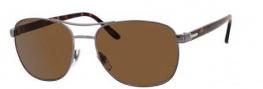 Gucci 2220 Sunglasses Sunglasses - 0VRO Dark Ruthenium (U8 ebony polarized lens)