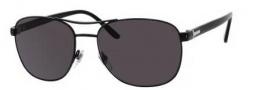 Gucci 2220 Sunglasses Sunglasses - 065Z Shiny Black (M9 gray polarized lens)