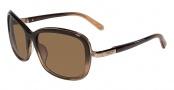 Calvin Klein CK7308S Sunglasses Sunglasses - 308 Olive Gradient