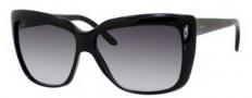 Gucci 3585/S Sunglasses Sunglasses - 0D28 Shiny Black (PT gray gradient lens)