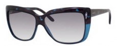 Gucci 3585/S Sunglasses Sunglasses - 0396 Turquoise Havana (O0 gray gradient lens)