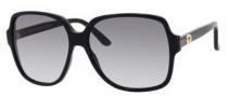 Gucci 3582/S Sunglasses Sunglasses - 0807 Black (JJ gray gradient lens)