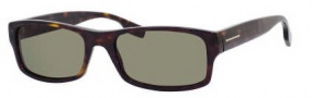 Hugo Boss 0407/S Sunglasses Sunglasses - 0086 Dark Havana (1E Green Lens)