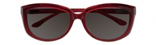 BCBGMaxazria Bliss Sunglasses Sunglasses - RED Red Transparent