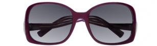 BCBGMaxazria Drama Sunglasses Sunglasses - PLU Plum Laminate