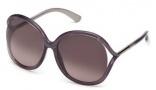 Tom Ford FT0252 Rhi Sunglasses  Sunglasses - 83T Violet / Gradient Bordeaux