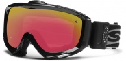Smith Optics Prophecy Turbo Fan Snow Goggles Goggles - Black / Red Sensor Mirror
