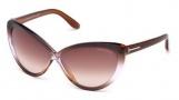 Tom Ford FT0253 Madison Sunglasses Sunglasses - 50Z Dark Brown / Gradient