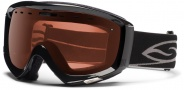 Smith Optics Prophecy Polarized - Photochromic Snow Goggles  Goggles - Black / Polarized Rose Copper