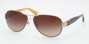 Coach HC7009Q Sunglasses Charity Sunglasses - 905613 Gold / Brown / Dark Brown Gradient