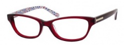 Juicy Couture Juicy 118 Eyeglasses  Eyeglasses - 0ETH Burgundy Crystal