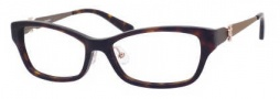 Juicy Couture Juicy 123/F Eyeglasses Eyeglasses - 0086 Dark Havana