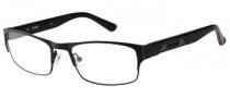Guess GU 1760 Eyeglasses Eyeglasses - BLKRD: Black Satin