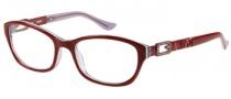 Guess GU 2287 Eyeglasses Eyeglasses - BU: Burgundy