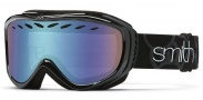 Smith Optics Transit Snow Goggles Goggles - Black / Blue Sensor Mirror