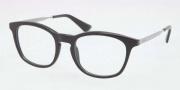 Prada PR 01PV Eyeglasses Eyeglasses - 1AB101 Gloss Black / Demo Lens