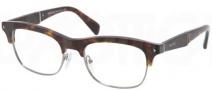 Prada PR 22OV Eyeglasses  Eyeglasses - 2AU101 Havana / Demo Lens