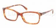 Prada PR 23OV Eyeglasses Eyeglasses - 4BW101 Light Havana / Demo Lens