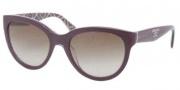 Prada PR 05PS Sunglasses Sunglasses - MAT1X1 Top Violet / Roll Brown Gradient