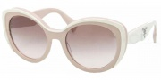 Prada PR 12PS Sunglasses Sunglasses - KAW0A6 Ivory / Powder Gray