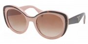 Prada PR 12PS Sunglasses Sunglasses - MAL1Z1 Havana / Pink Brown Gradient