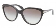 Prada PR 15PS Sunglasses Sunglasses - 1AB0A7 Black / Gray Gradient