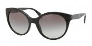 Prada PR 23OS Sunglasses Sunglasses - 1AB3M1 Black / Gray Gradient