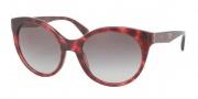 Prada PR 23OS Sunglasses Sunglasses - KAQ0A7 Red Havana / Gray Gradient