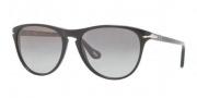 Persol PO 3038S Sunglasses Sunglasses - 95/M3 Black Polar / Gradient Grey