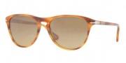Persol PO 3038S Sunglasses Sunglasses - 960/81 Striped Brown / Photo Polar Gradient Brown