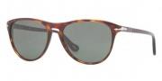 Persol PO 3038S Sunglasses Sunglasses - 24/31 Havana / Crystal Green