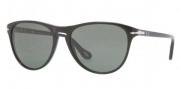 Persol PO 3038S Sunglasses Sunglasses - 95/31 Black / Crystal Green