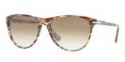 Persol PO 3038S Sunglasses Sunglasses - 978/51 Brown Striped / Grey Gradient Brown